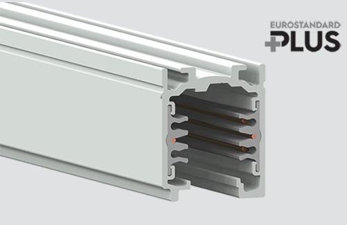 Bara de bare EUROSTANDARD PLUS lungime 200cm (RAL 9010) alb