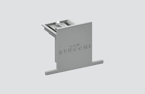 Opritor încastrat STUCCHI 9004-R / W alb, negru, gri