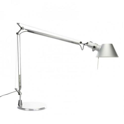 Lampa de masă Artemide Tolomeo Aluminium (halogen)