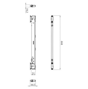 Adaptor cu șase pini cu controler integrat + DALI STUCCHI negru, gri, alb small 1