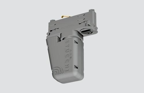 Adaptor pentru controlul iluminării fără fir a pistei cu tehnologia CASAMBI STUCCHI alb, negru
