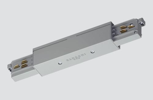 Conector pentru șină (mijloc) STUCCHI alb, negru, gri