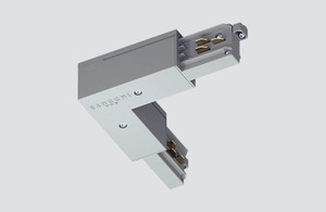 Conector unghiular intern tip L negru ONETRACK Stucchi 9011 / B small 0