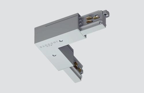 Conector unghiular intern tip L negru ONETRACK Stucchi 9011 / B
