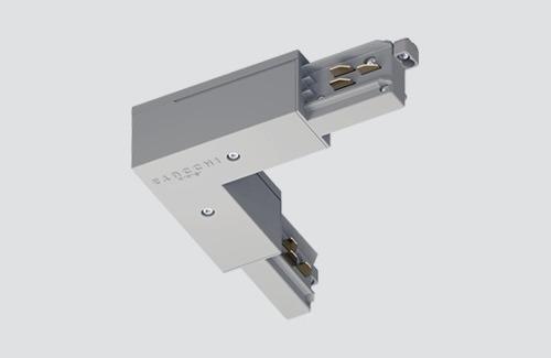 Conector unghi extern - tip L, STUCCHI, alb, negru, gri