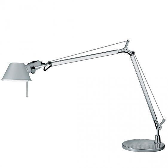 Lampa de birou Artemide Tolomeo Mini aluminiu