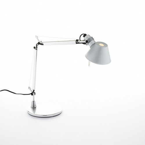 Lampa de masă Artemide Tolomeo Micro (aluminiu)