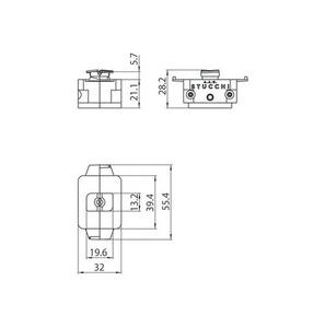 Adaptor mecanic STUCCHI, alb, negru, gri small 1