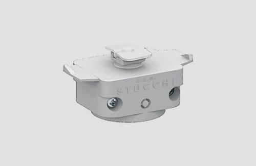 Adaptor mecanic STUCCHI, alb, negru, gri