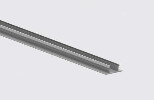 Oprire șină șină 100cm IP40 STUCCHI, alb, gri, negru