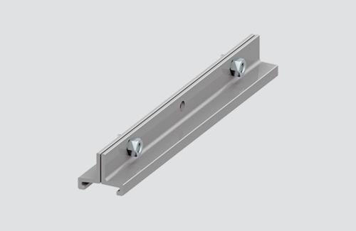 Mâner lung de sling STUCCHI, aluminiu, negru, alb
