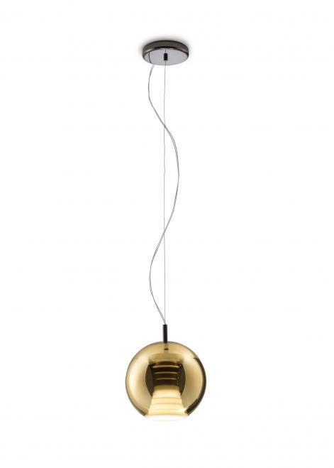 Lampa suspendată FABBIAN Beluga Royal GOLD D57A5112 (MIC - 20cm)