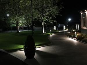 Stâlpul de iluminare din metal gri, Moară de vânt LED 80cm 10W 6400K / 4000K / 2700K small 2