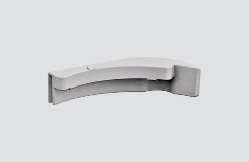 Adaptor pentru carter 9009 IP40, barele STUCCHI, alb, negru, gri