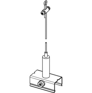 Set de suspensie BASIC cu mâner, lungime 3000 mm, STUCCHI small 1