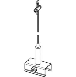 Set de suspensie BASIC cu mâner, lungime 5000 mm, STUCCHI small 1