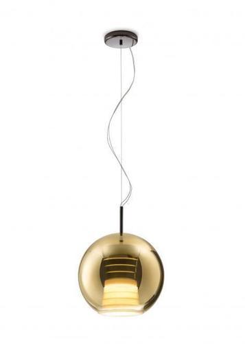 Lampa suspendată FABBIAN Beluga ROYAL Auriu D57A5312 (MEDIE - 30cm)