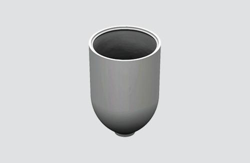 Capac de fixare prin cablu cu diam. 1,5 mm, STUCCH, alb, negru, gri