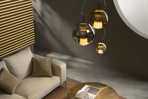 Lampa suspendată FABBIAN Beluga ROYAL Maron D57A5341 (MEDIE - 30cm) small 3