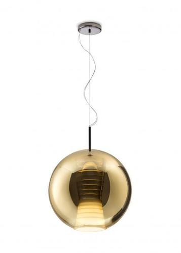 Lampa suspendată FABBIAN Beluga ROYAL GOLD D57A5512 (LARGE - 40cm)