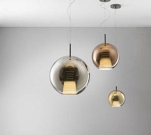 Lampa suspendată FABBIAN Beluga ROYAL BROWN D57A5541 (LARGE - 40cm) small 4