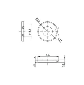 Interblocare pentru S-9209-BD / M13, soclu M13, barele STUCCHI small 1