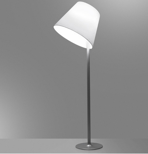 Lampa de podea Artemide MELAMPO Mega aluminiu gri