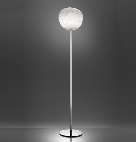 Lampa de podea Artemide METEORITE 35 crom lustruit