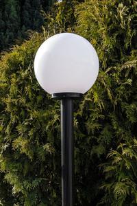 Lampă de grădină lampă de lună albă 20 cm E27 negru post 100 cm small 2