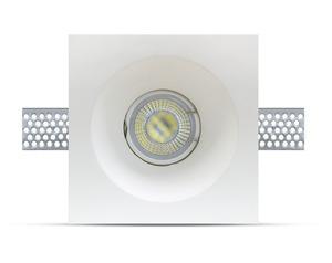 Binding Eye GIPS GU10 Incastrat Deep Square White small 6