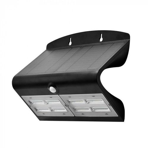Lampă de perete solară cu LED SOLAIRE dublă cu senzor de mișcare și crepuscul