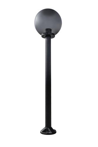 Lampa de grădină lampă lună afumată 25 cm E27 negru post 100 cm