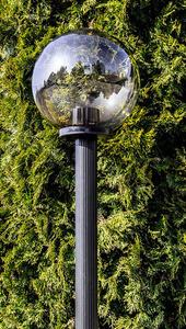 Lampă de grădină, lampă de lună afumată 50 cm E27 negru post 100 cm small 3