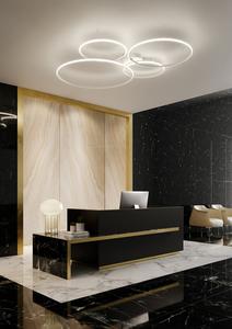 FABBIAN OLYMPIC Sconce italian / plafond F45G01 alb small 4