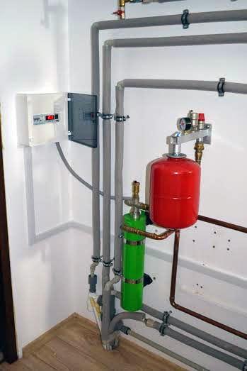 Cazan de inducție 4,5 kw pentru încălzirea suprafeței de 90m²