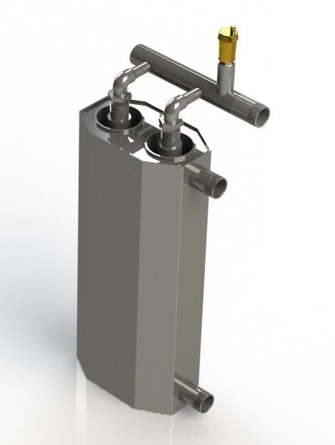 Cazan cu dublu inducție de 6 kW pentru încălzirea suprafeței de 100m²