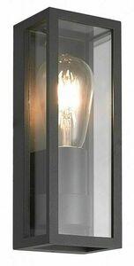 Porton de perete exterior sconce + bec cu filament LED small 0