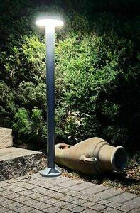 Post de grădină Rondo LED 71cm, gri small 3