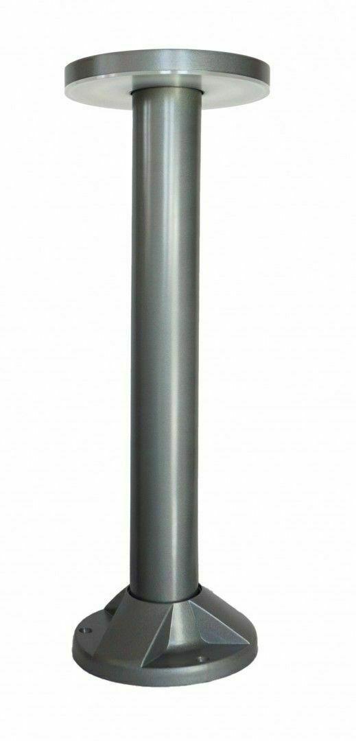 Post de grădină Rondo LED 45cm, gri