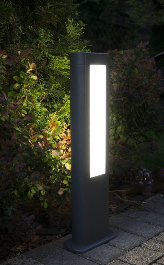 Lampă de exterior EVO LED 50cm, gri închis