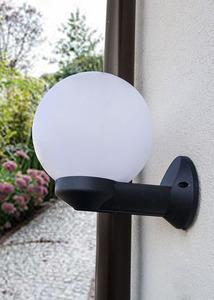 Lampă de grădină de grădină Luna Ball 20 cm alb E27 LED small 1