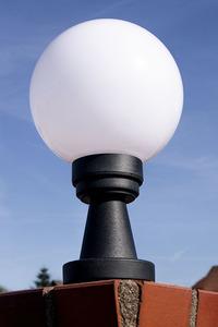 Lampă de grădină Luna Ball Plinto 25 cm E27 LED alb alb small 1