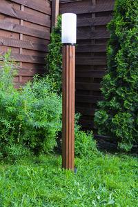 Lampa de iluminat Lunch Lamp 127 cm E27 din lemn alb small 1