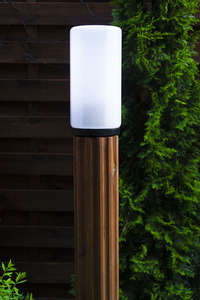 Lampa de iluminat Lunch Lamp 127 cm E27 din lemn alb small 3
