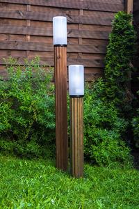 Lampa de iluminat Lunch Lamp 127 cm E27 din lemn alb small 4