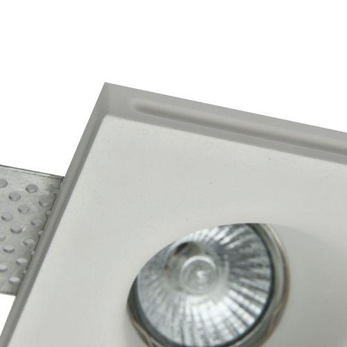 Corp de iluminat încorporat Maytoni Gyps Modern DL002-1-02-W