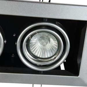 Corp de iluminat încastrat în plafon Maytoni Metal Modern DL008-2-02-S small 0