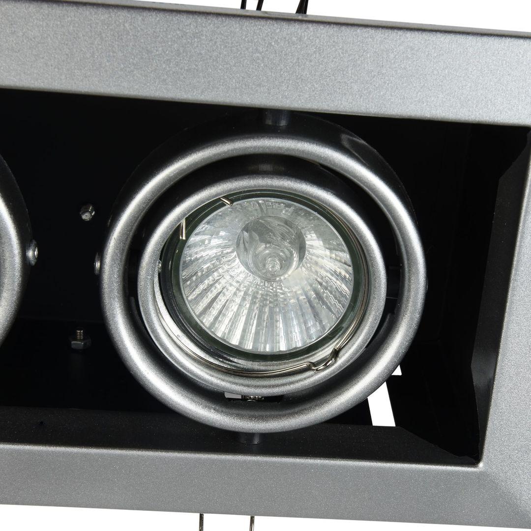Corp de iluminat încastrat în plafon Maytoni Metal Modern DL008-2-02-S