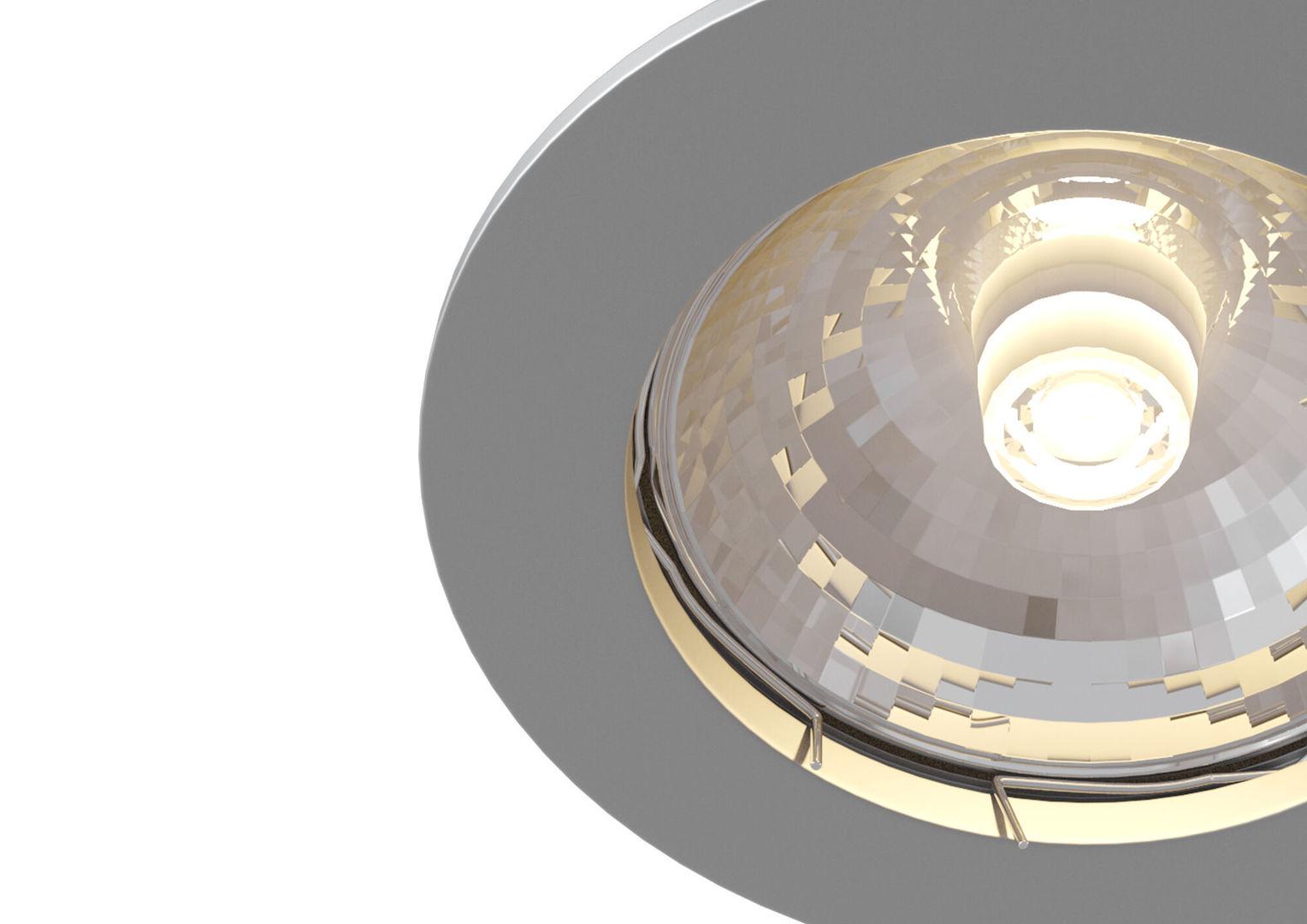 Corp de iluminat încorporat Maytoni Metal Modern DL009-2-01-CH