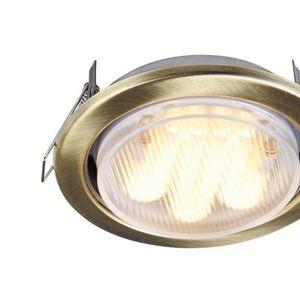 Corp de iluminat încastrat în plafon Maytoni Metal Modern DL293-01-BZ small 2